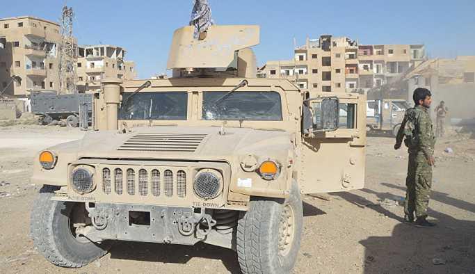 ABD, DSG'ye 250 tırla ağır silah ve zırhlı araç gönderdi