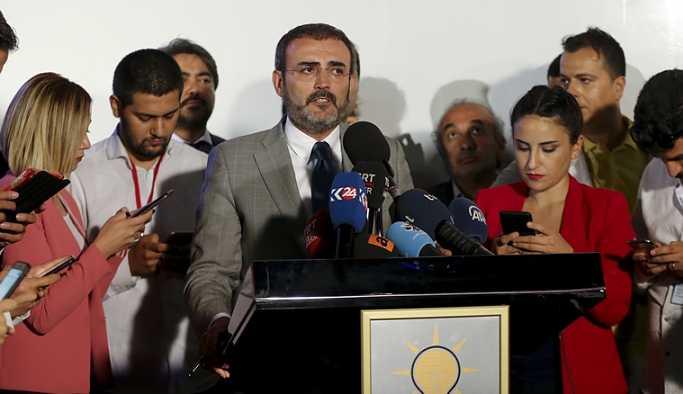 AKP'den sürpriz açıklama: İnce'yi takdir ediyoruz