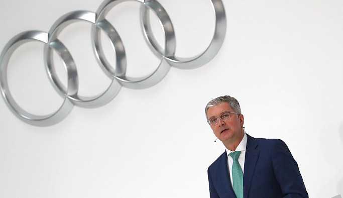 Almanya'daki emisyon skandalında Audi CEO'su Stadler tutuklandı
