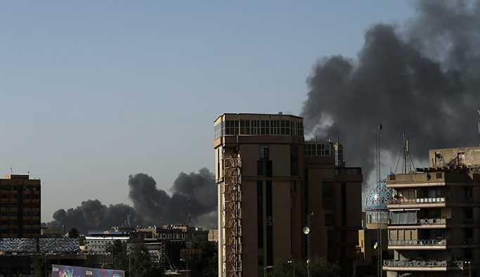 Bağdat'ta seçim sandıklarının bulunduğu depoda yangın çıktı