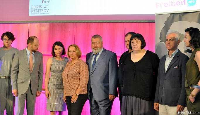 Boris Nemtsov ödülü Nadejda Mityuşkina'ya verildi