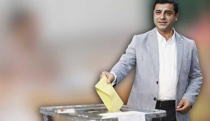Demirtaş'ın sandığından İnce ve HDP çıktı