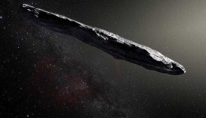 Farklı güneş sisteminden gelen esrarengiz cismin ne olduğu ortaya çıktı