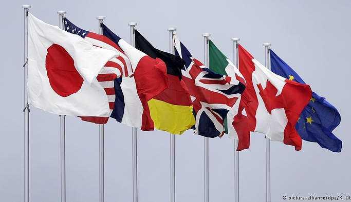 G7 zirvesi görüş ayrılıklarının gölgesinde başladı