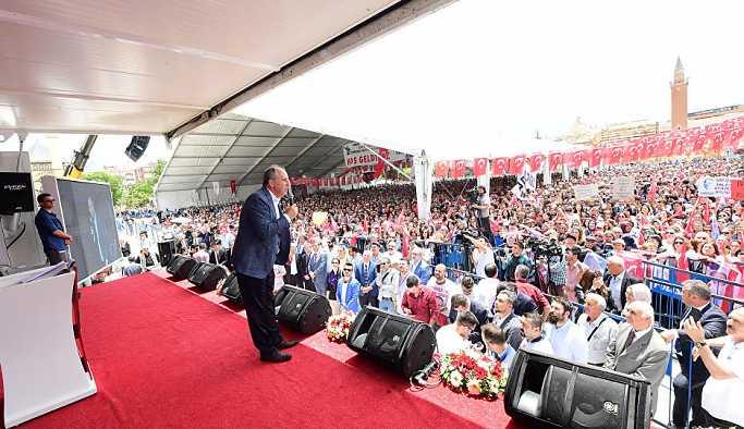 İnce: Ülkeyi yönetenler 'CHP çivi mi çaktı' diyor, sattıklarını kim yaptı?