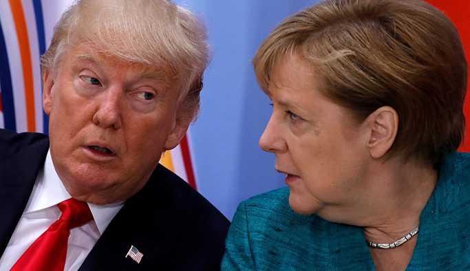 Merkel: Trump ile fark edilebilir görüş ayrılıkları var
