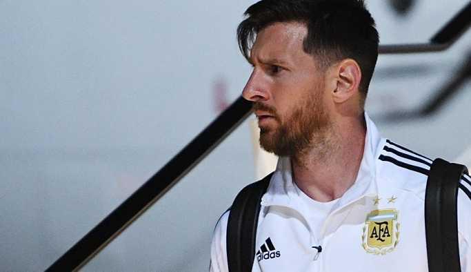 Messi: Geleceğimi Rusya belirleyecek