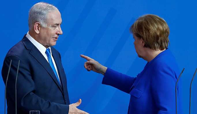 Netanyahu, İran konusunda Merkel'i ikna edemedi
