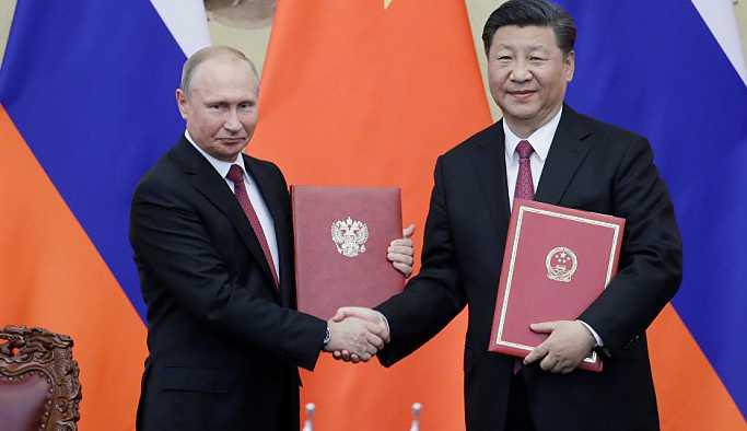 Putin ve Şi'den ortak deklarasyon