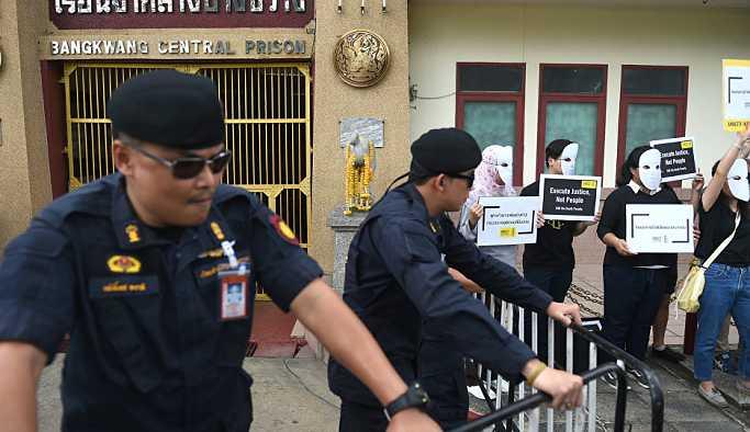 Tayland'da 9 yıl sonra ilk idam