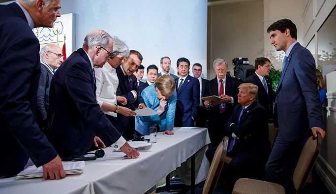 Trump: G7 liderleri zirvenin yüzde 25'ini Rusya'yı konuşarak geçirdi, Rusya geri dönmeli