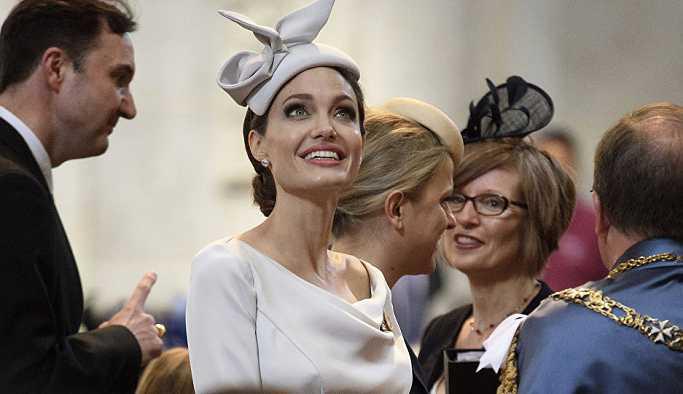 'Angelina Jolie, Kate Middleton'dan evliliğini kurtarmak için tavsiye istedi'