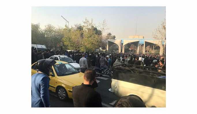 İran'daki gösterilerle ilgili 258 kişi hakkında mahkumiyet kararı