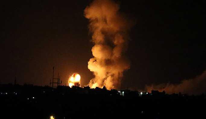 İsrail'den Gazze'ye geniş çaplı saldırı