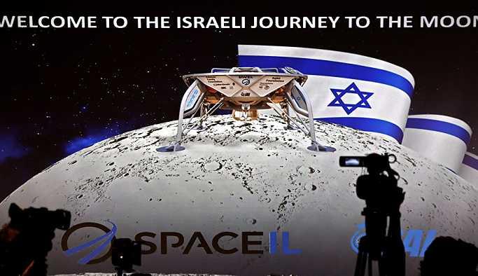 İsrail, ilk kez Ay'a insansız uzay aracı gönderiyor