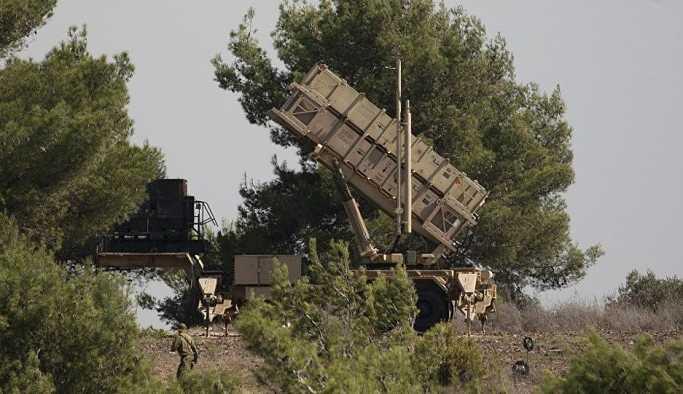 İsrail: Suriye'den giren İHA'yı Patriot'la vurduk