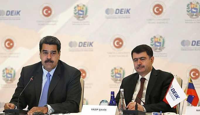 Maduro: Türkiye ile tüm insanlığın ortak rüyasını gerçeğe dönüştürmek istiyoruz