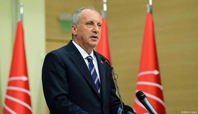 Muharrem İnce: CHP'nin yeniden yapılanması lazım