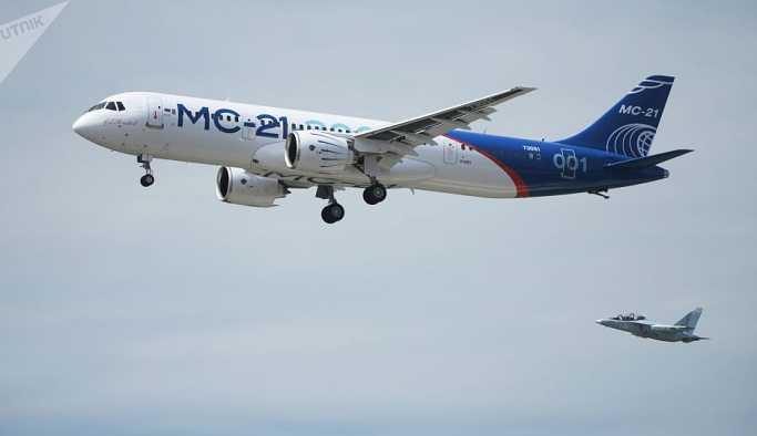 'Suriye, Rus yapımı MS-21 uçaklarını almak istiyor'