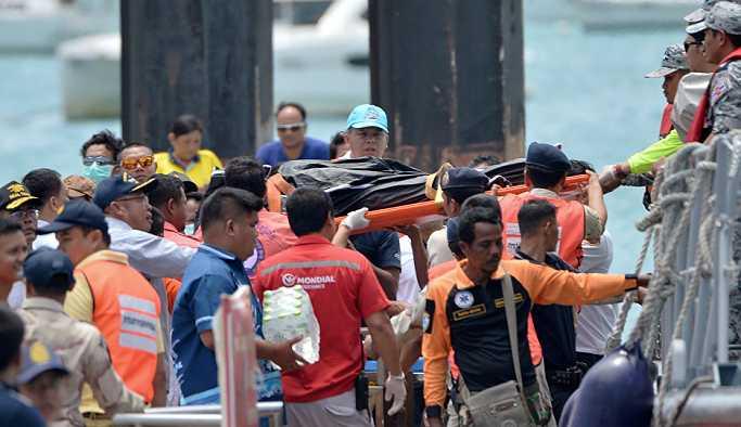 Tayland'daki tekne faciasında ölü sayısı artıyor