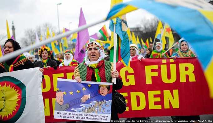 Almanya'daki Kürtlerden Erdoğan'ı protesto hazırlığı