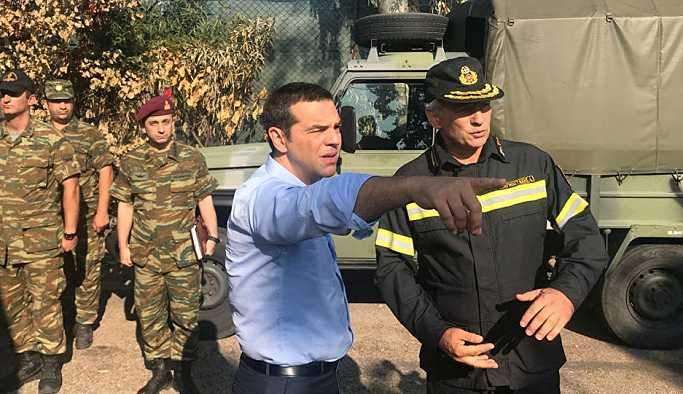 Başbakan Çipras'tan kaçak yapı kaosunu sonlandırma sözü