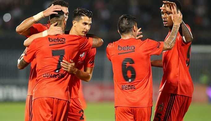 Beşiktaş, Partizan ile deplasmanda beraber kaldı: 1-1