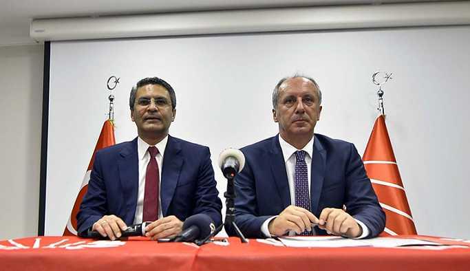 CHP'li Salıcı: Seçimlerde en çok İnce çalışacak