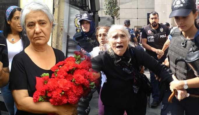 Cumartesi Anneleri'nin 700. hafta eylemi yasaklandı