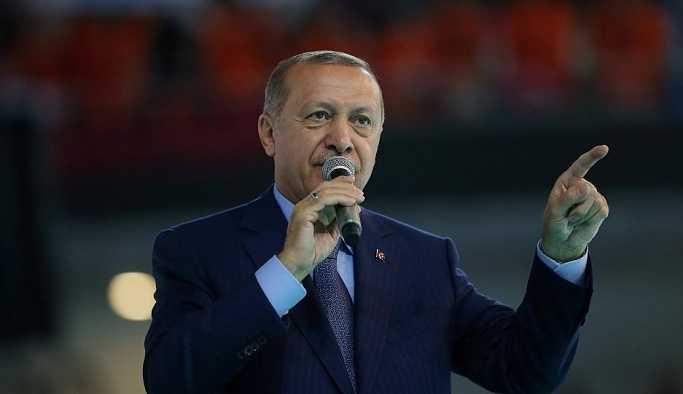 Erdoğan: Tehditten değil hukuktan anlarız