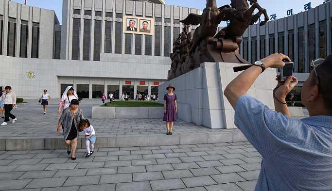 Kuzey Kore, bir aydır tutuklu bulunan Japon turisti serbest bıraktı