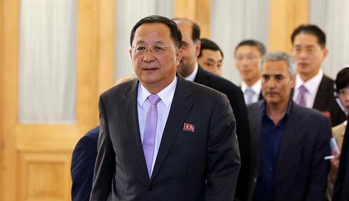 Kuzey Kore Dışişleri Bakanı Ri: ABD'lilerle anlaşmaya çalışmak zor