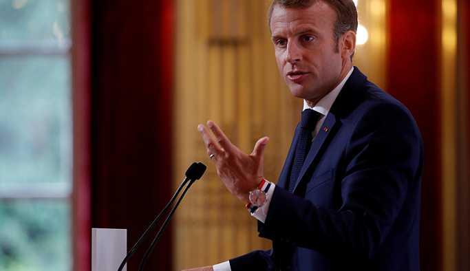 Macron: Kimyasal silah kullanılırsa Suriye'ye yeni saldırılara hazırız