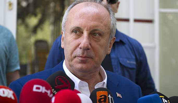 Muharrem İnce: Türkiye büyük bir krizle karşı karşıya