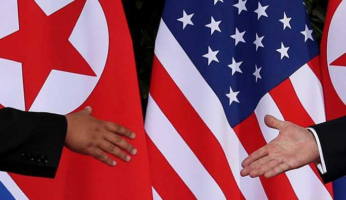 Pompeo, Trump'ın Kim'e yazdığı mektubu Kuzey Koreli mevkidaşına teslim etti