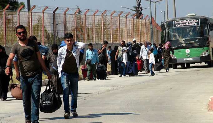 Rusya: Türkiye'deki yaklaşık 298 bin Suriyeli ülkelerine dönmek istiyor