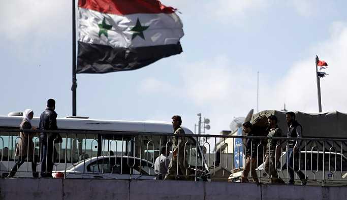 SANA: Şam yakınlarında düşman hedefi vuruldu
