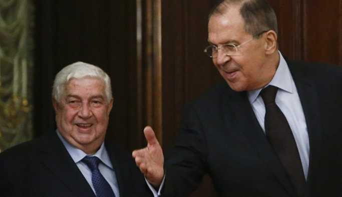 Suriye Dışişleri Bakanı Muallim, ay sonunda Moskova'yı ziyaret edecek