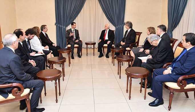 Vatan Partisi'nden Suriye'ye kutlama mesajı