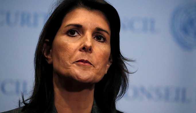 ABD'nin BM Daimi Temsilcisi Haley'den Rusya, İran ve Şam'a tehdit