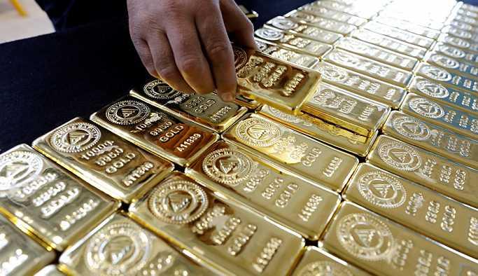 Bankalardaki altın miktarında 10.6 ton azalma