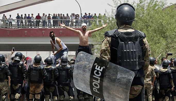 Basra'da durum normale döndü': Sokağa çıkma yasağı kaldırıldı