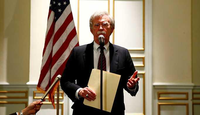 Bolton: ABD ve müttefikleri Suriye'nin kimyasal silah kullanması halinde çok daha güçlü yanıt için anlaştı
