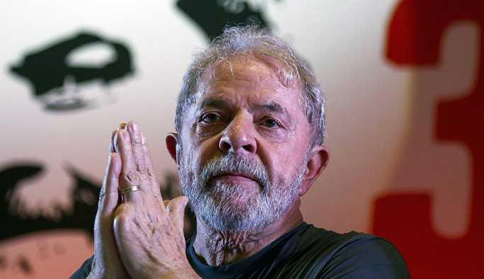 Brezilya'da hapisteki eski Devlet Başkanı Lula başkanlık yarışından çekildi