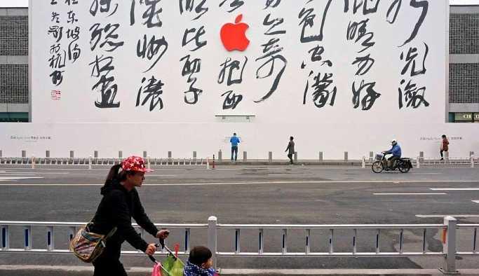 Çin'de Apple lansmanına tepki