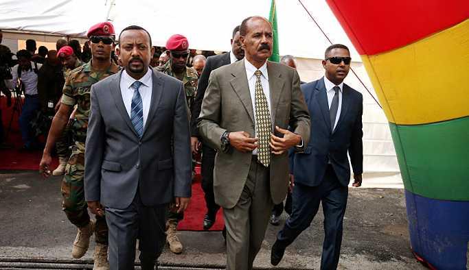 Eritre ve Etiyopya sınırı 20 yıl sonra açıldı
