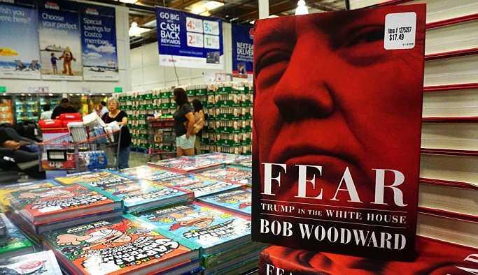 'Korku: Trump Beyaz Saray'da' kitabı, ABD'de satış rekoru kırdı