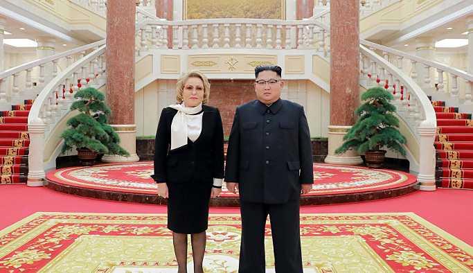 Matviyenko: Kuzey Kore lideri Kim'e göre top, ABD tarafında
