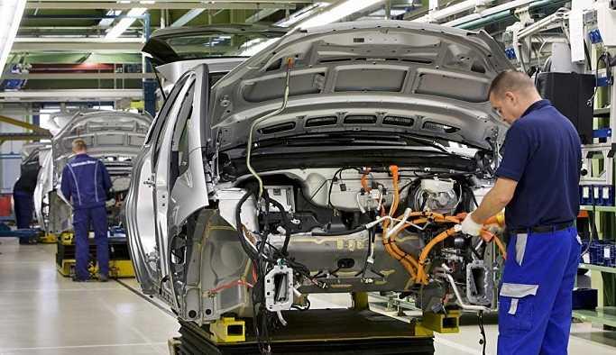 Otomobil üretimi ağustos ayında yüzde 42 düştü