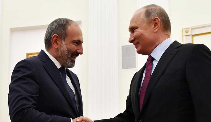 Paşinyan: Putin, insani değerlere önem veren biri